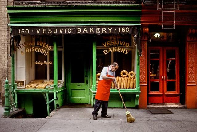 На улице Нью-Йорка, США. Автор Стив Маккарри