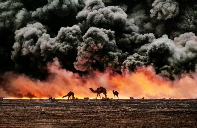 Нефтяные пожары в Кувейте, 1991. Автор Стив Маккарри