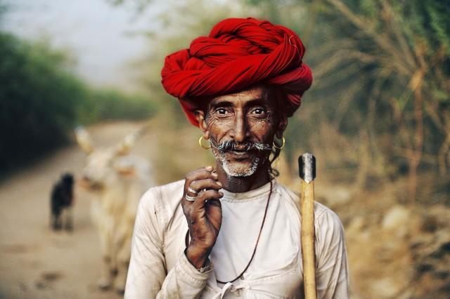 Пастух, Раджастхан, Индия, 2009. Автор Стив Маккарри