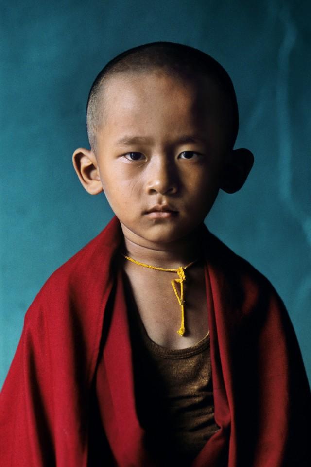 Тибет, 2001. Автор Стив Маккарри