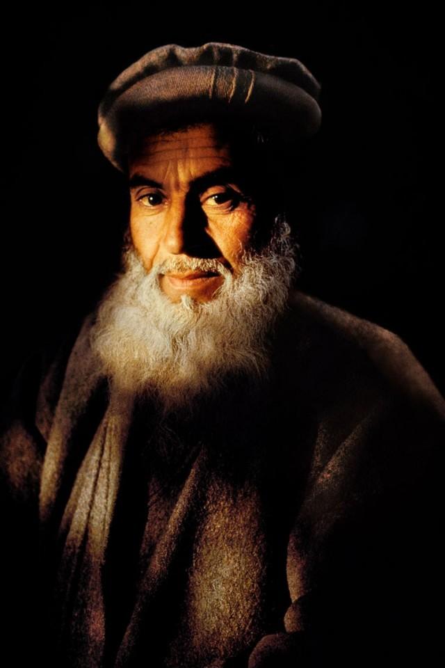 Фермер в Джелалабаде, Афганистан, 1992. Автор Стив Маккарри