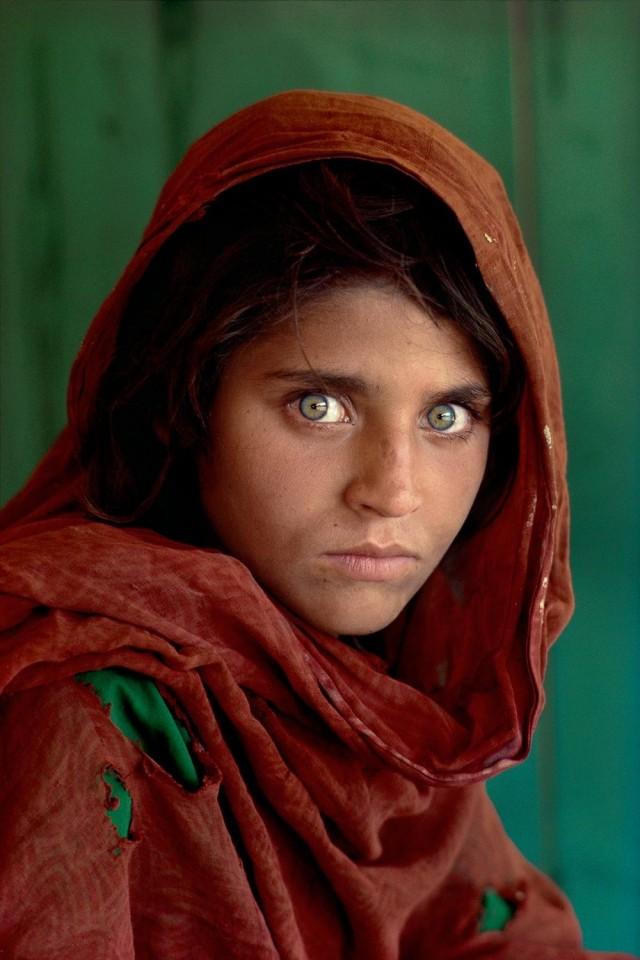 «Афганская девочка», 1984. Автор Стив Маккарри