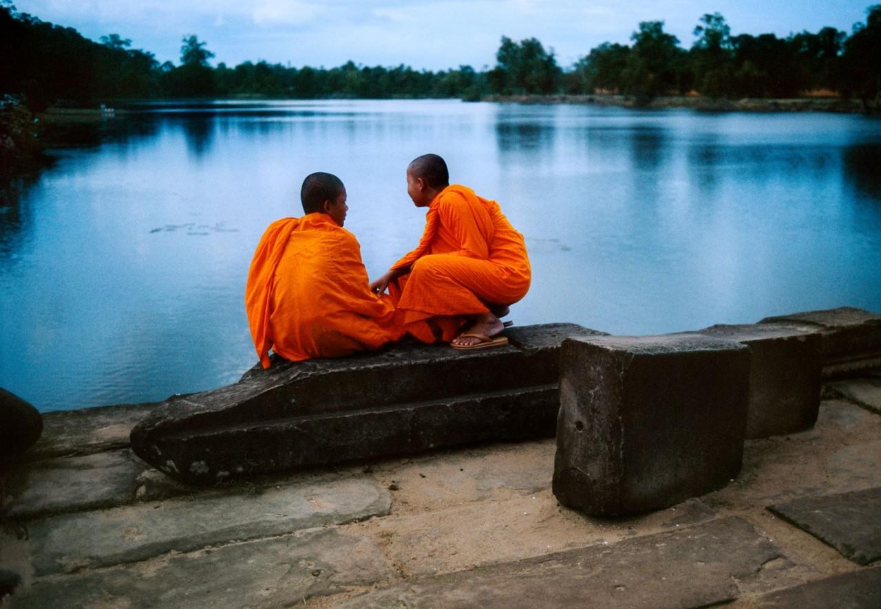 Ангкор-Ват, Камбоджа, 1997. Автор Стив Маккарри