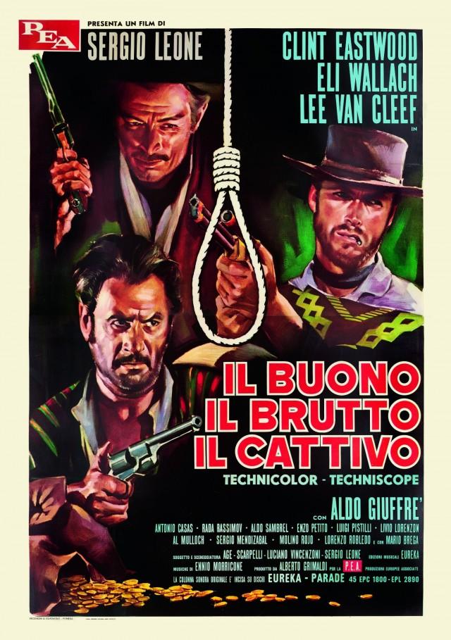 «Хороший, плохой, злой», 1966. Режиссёр Серджио Леоне