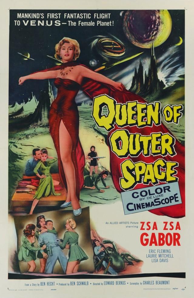 «Королева космоса», 1958. Режиссёр Эдвард Берндс