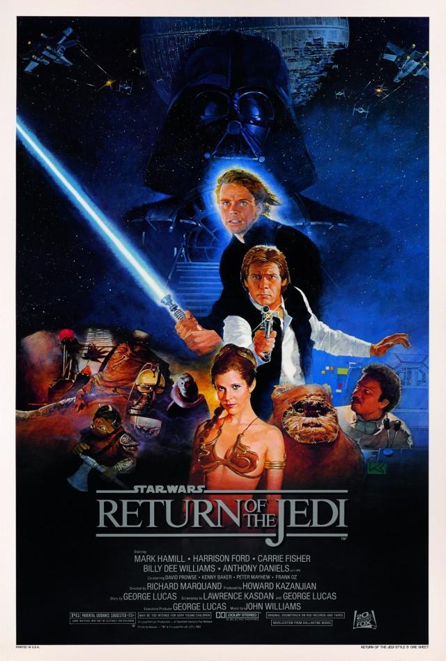 «Звёздные войны. Эпизод 6 – Возвращение Джедая», 1983. Режиссёр Ричард Маркуэнд