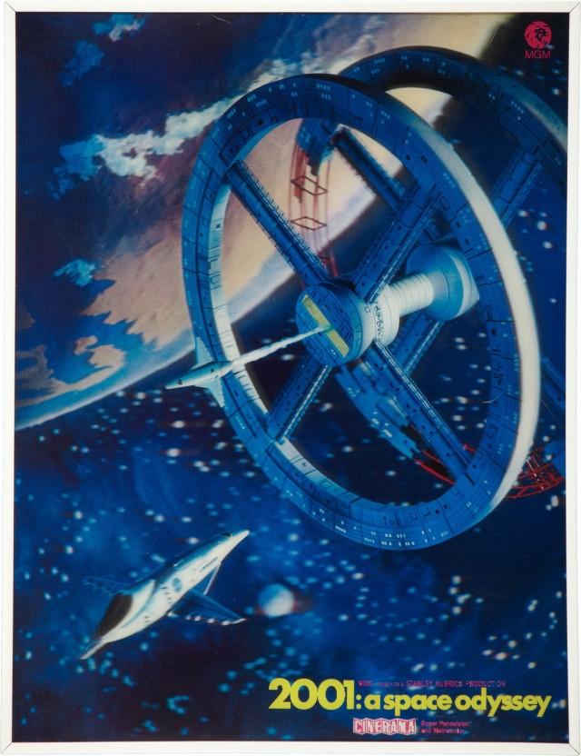 «Космическая одиссея 2001 года», 1968. Режиссёр Стэнли Кубрик