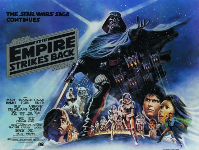 «Звёздные войны. Эпизод 5 – Империя наносит ответный удар», 1980. Режиссёр Джордж Лукас