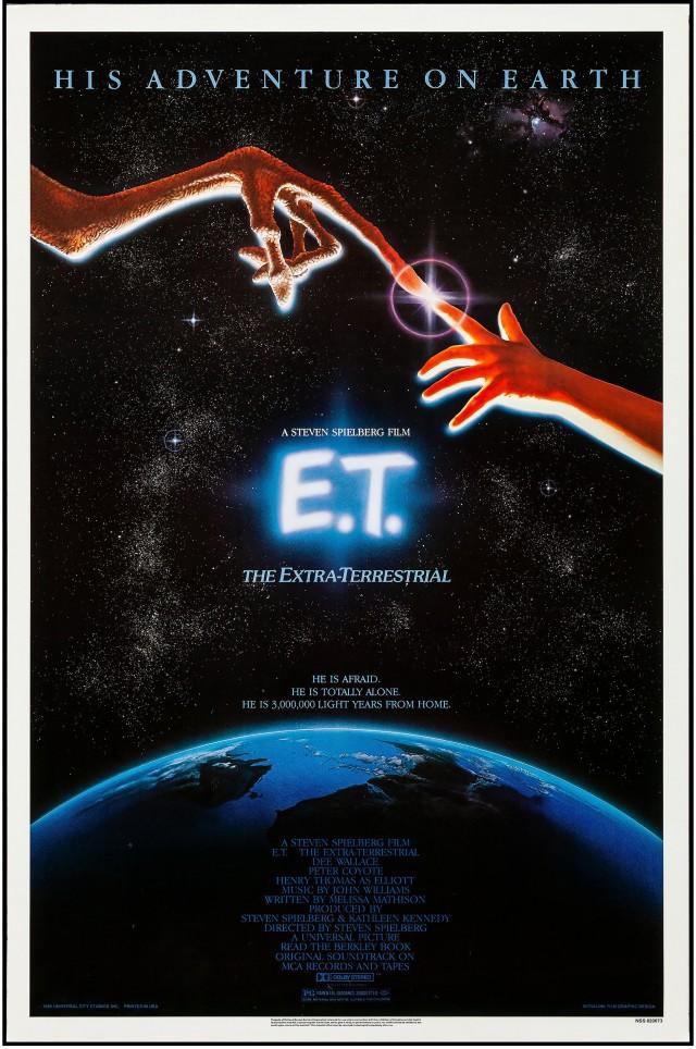 «Инопланетянин», 1982. Режиссёр Стивен Спилберг