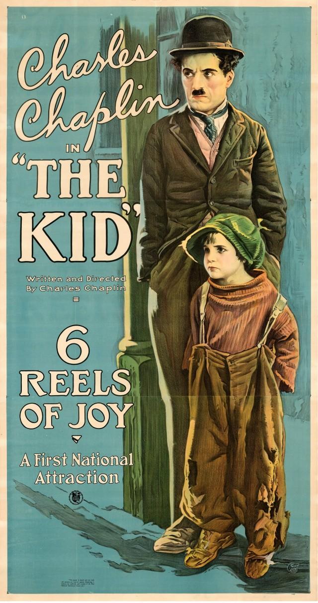 «Малыш», 1921. Режиссёр Чарльз Чаплин