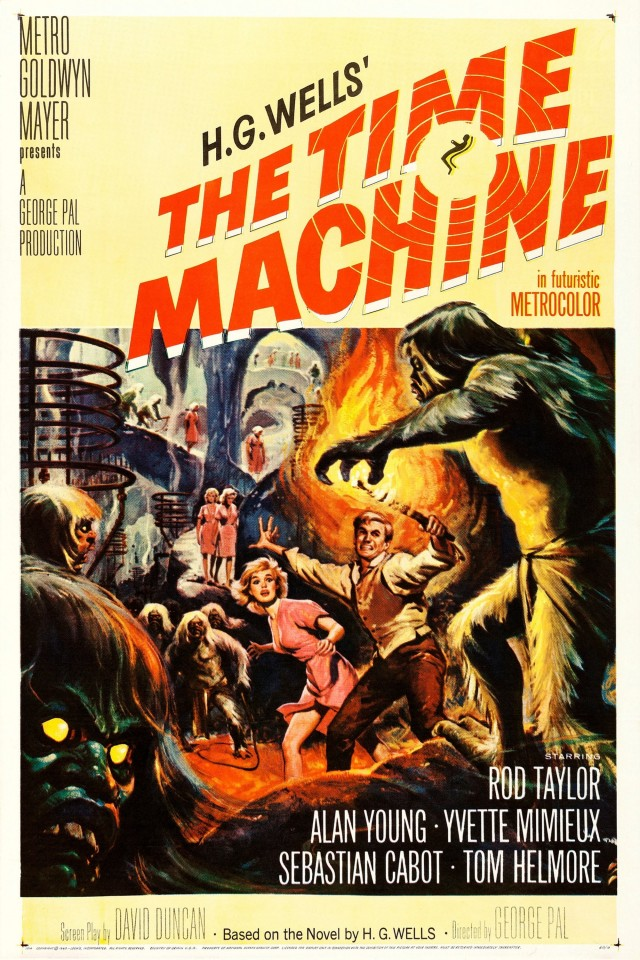 «Машина времени», 1960. Режиссёр Джордж Пал