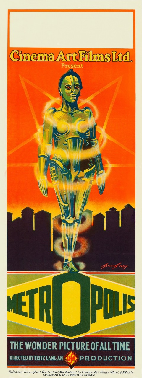 «Метрополис», 1927. Режиссёр Фриц Ланг