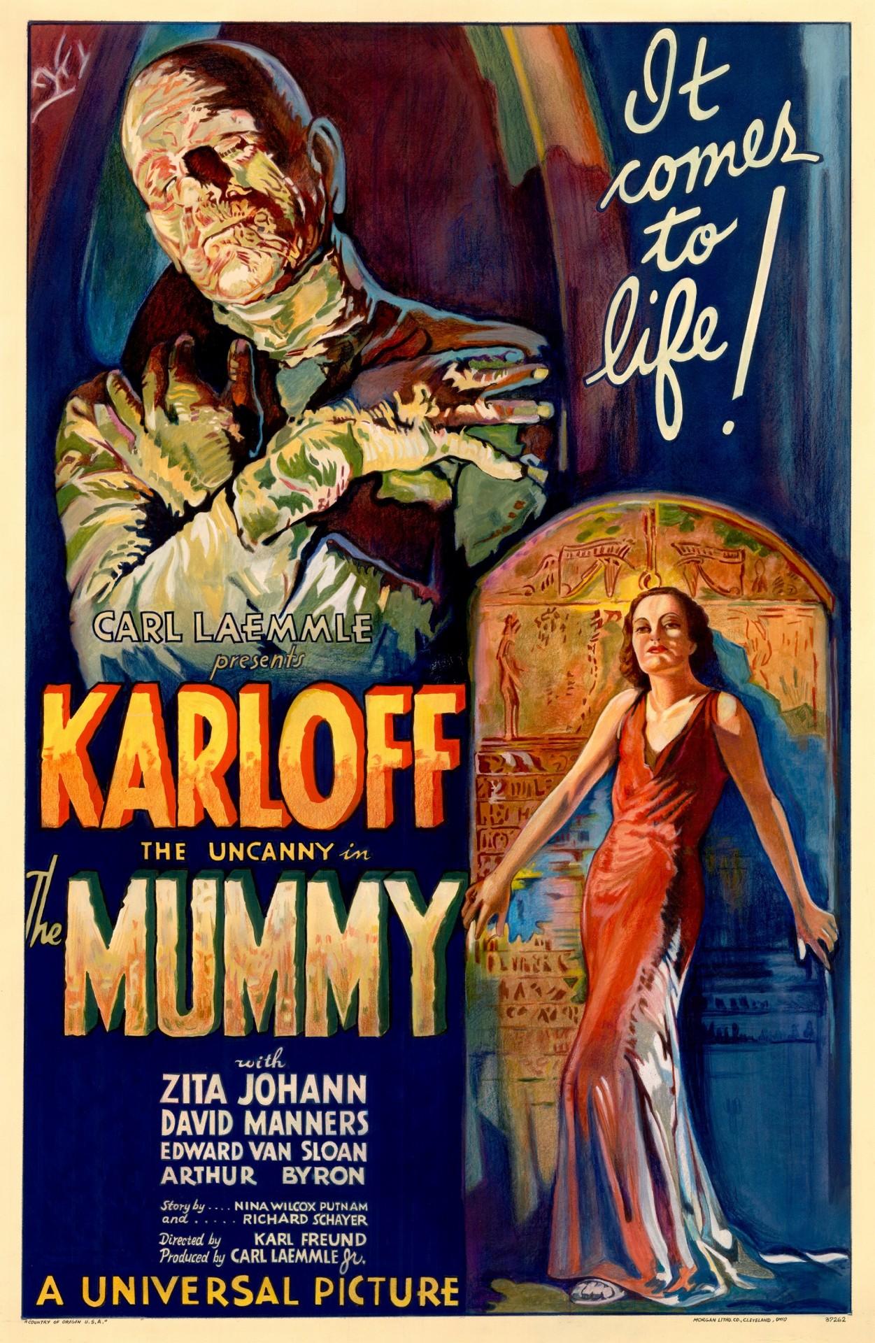 «Мумия», 1932. Режиссёр Карл Фройнд