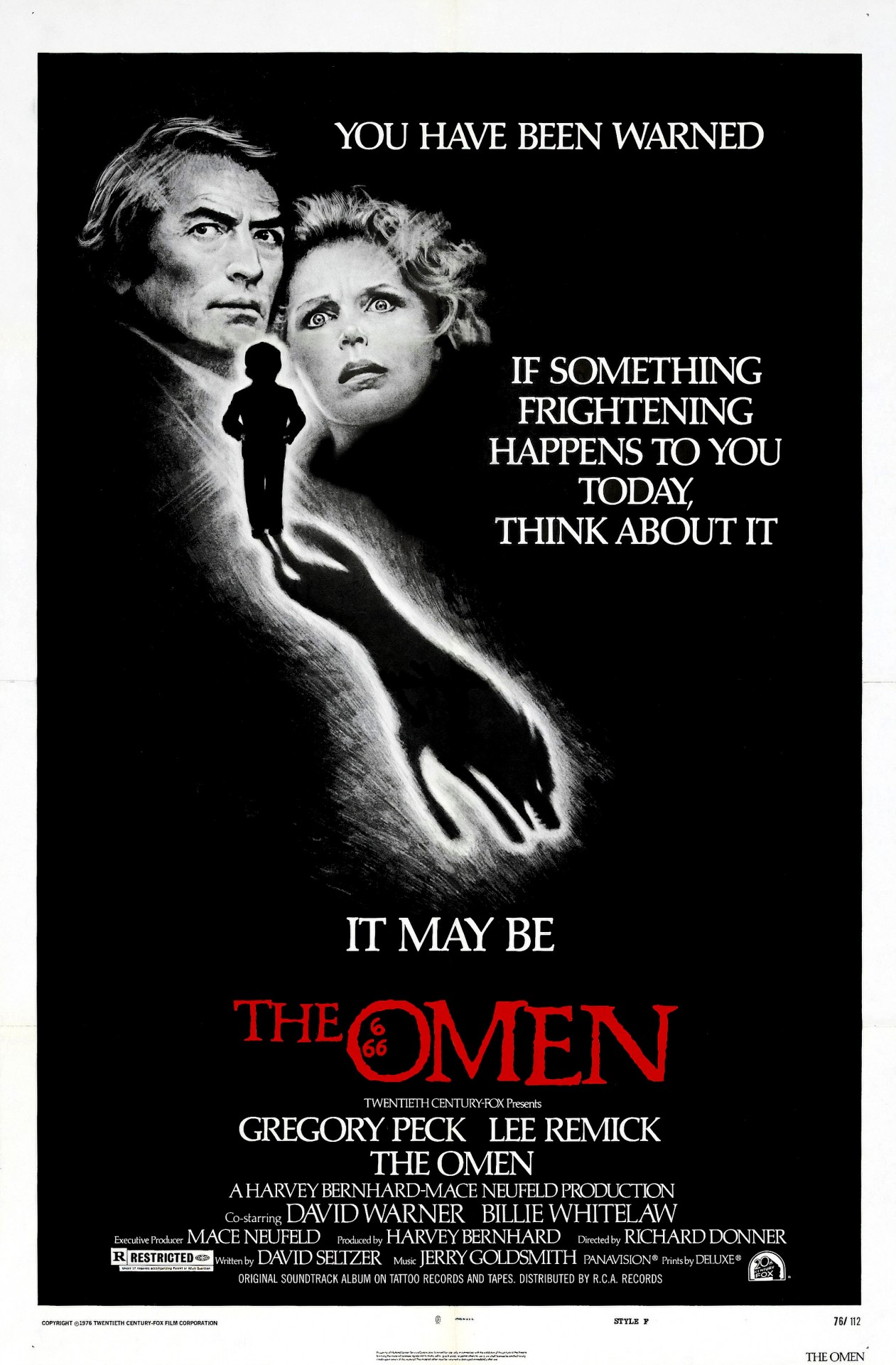 «Омен», 1976. Режиссёр Ричард Доннер