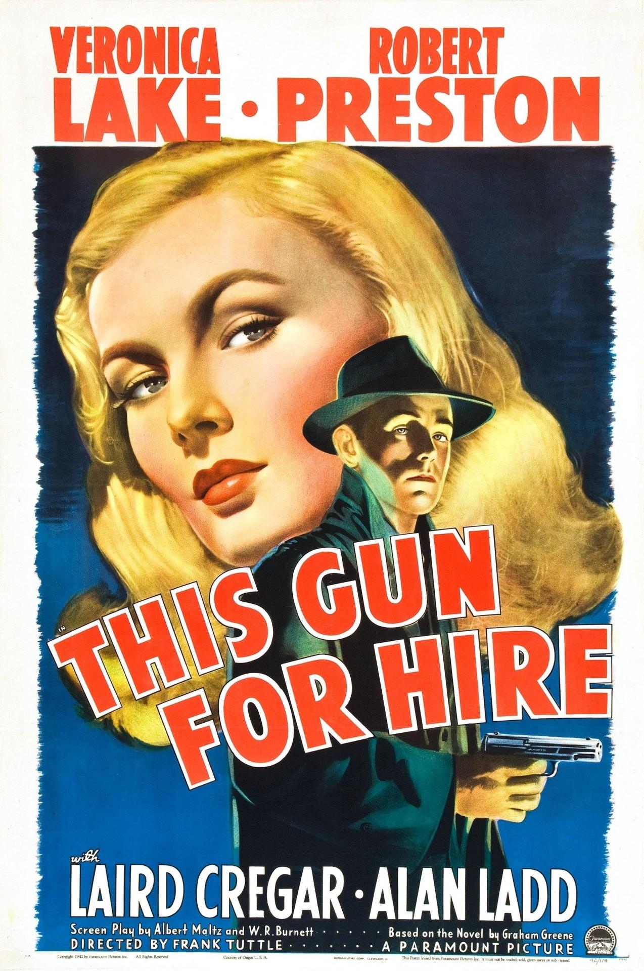 «Оружие для найма» или «Наёмник», 1942. Режиссёр Фрэнк Таттл