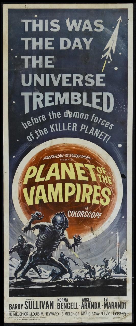 «Планета вампиров», 1965. Режиссёр Марио Бава