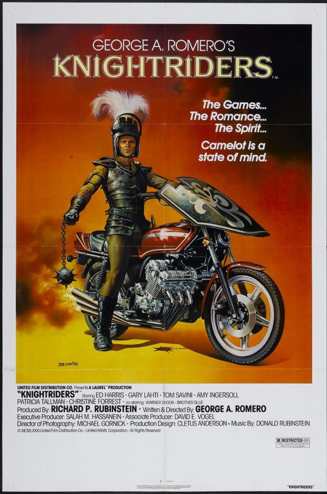 «Рыцари на колёсах», 1981. Режиссёр Джордж Ромеро