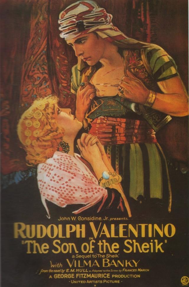 «Сын шейха», 1926. Режиссёр Джордж Фицморис