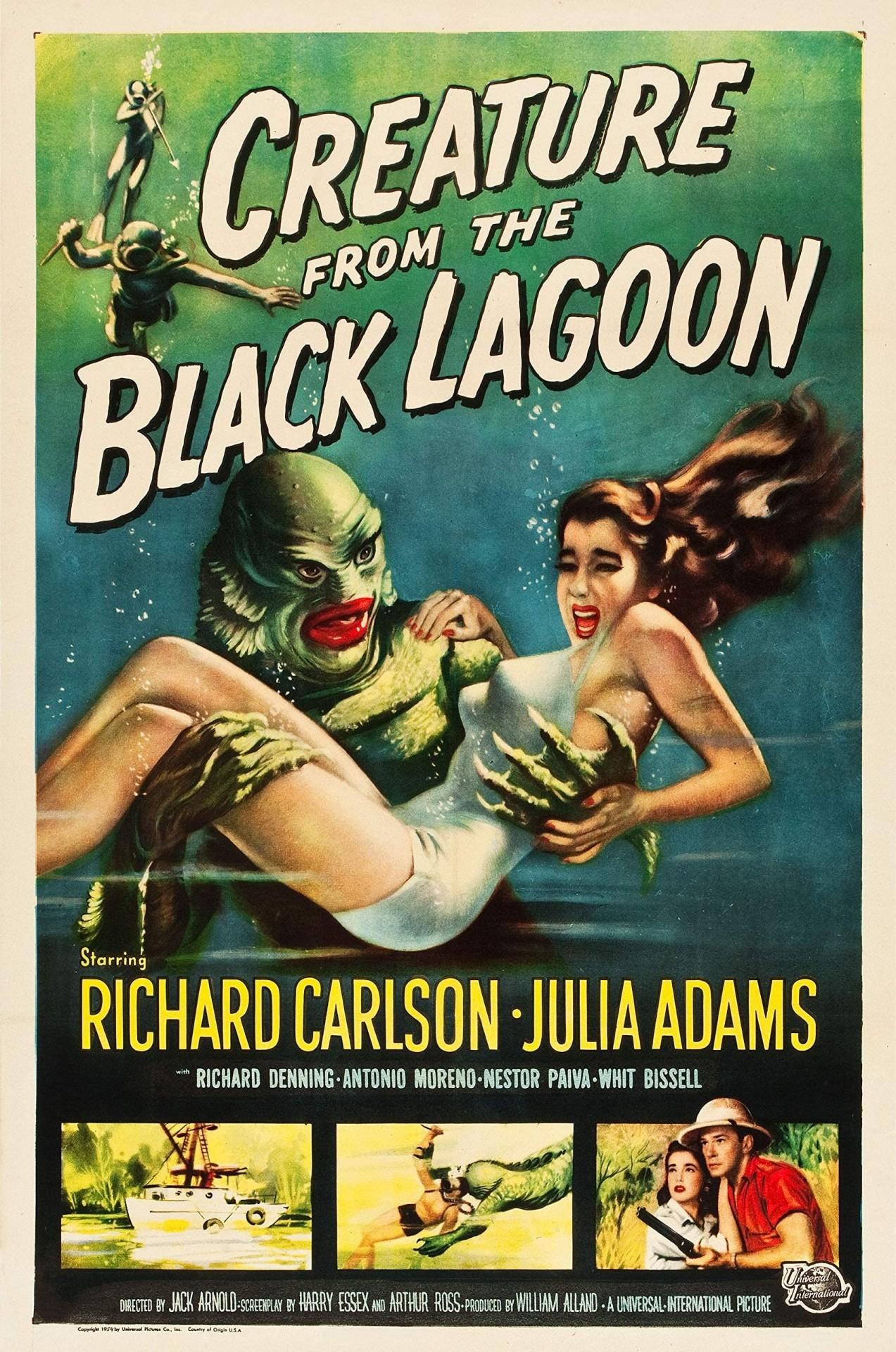 «Тварь из Чёрной Лагуны», 1954. Режиссёр Джек Арнольд
