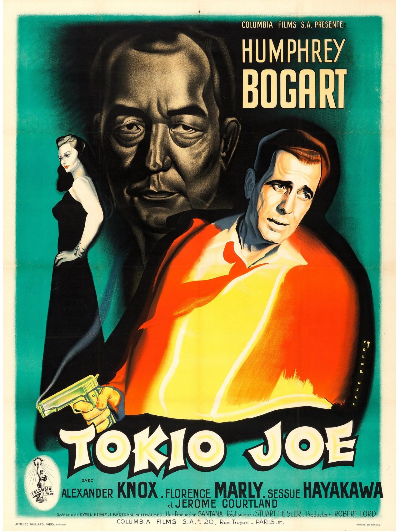«Токийский Джо», 1949. Режиссёр Стюарт Хейслер