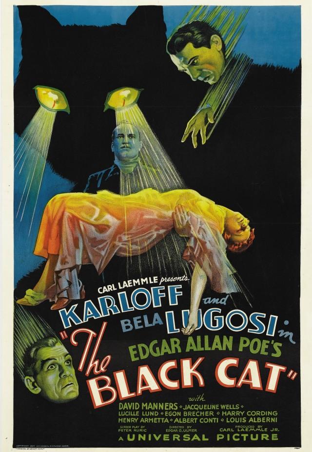 «Чёрный кот», 1934. Режиссёр Эдгар Георг Ульмер