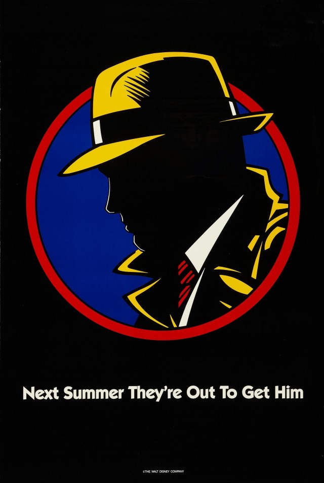 «Дик Трейси», 1990. Режиссёр Уоррен Битти