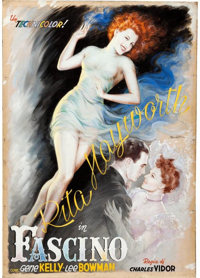 «Девушка с обложки» (Cover Girl, 1944) с Ритой Хейворт. Художник Ансельмо Баллестер