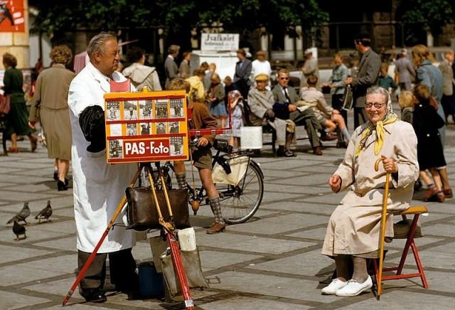 Копенгаген, Дания, 1955. Автор Мартин Карплус