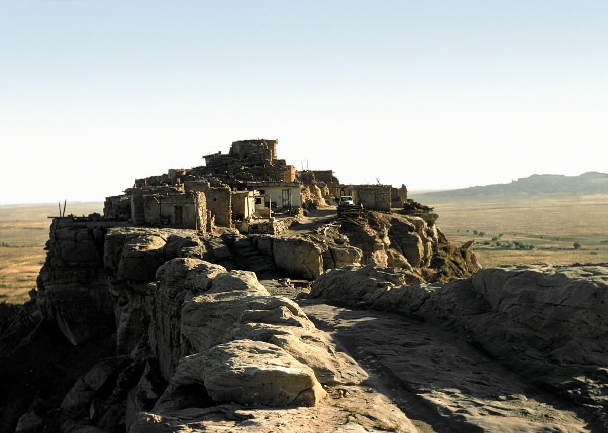 Посёлок Валпи в округе Навахо, штат Аризона. Автор Мартин Карплус