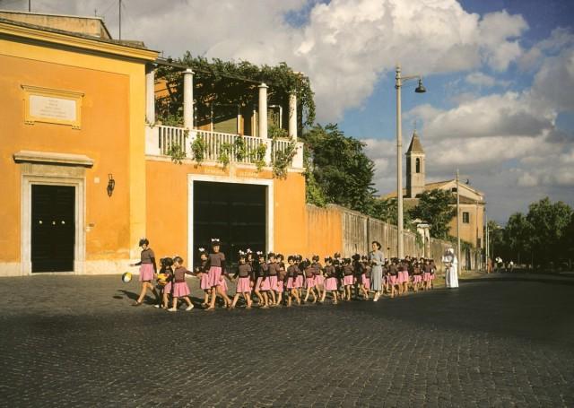 Рим, Италия, 1954. Автор Мартин Карплус