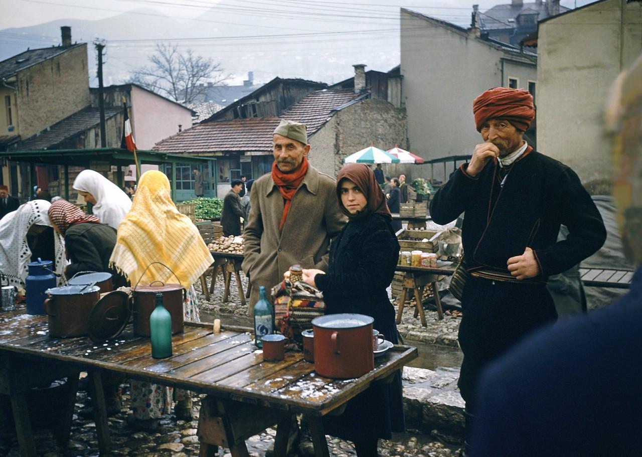 Сараево, 1955. Автор Мартин Карплус