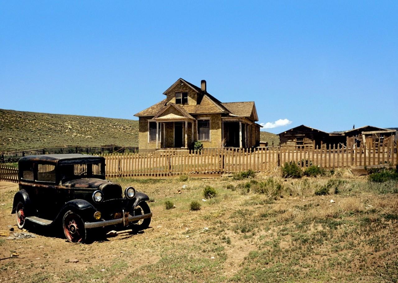 Ферма и Ford Model A. Автор Мартин Карплус