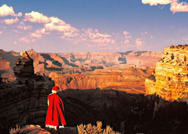 Большой каньон, США, 1956. Автор Мартин Карплус
