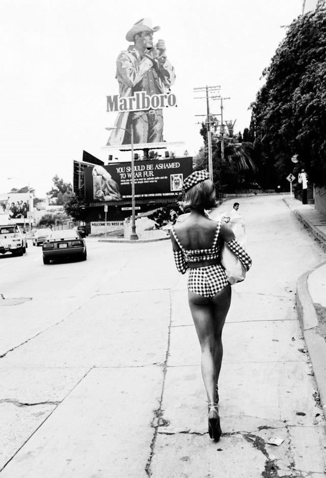 Сансет Стрип, Лос-Анджелес, 1991. Автор Эллен фон Унверт