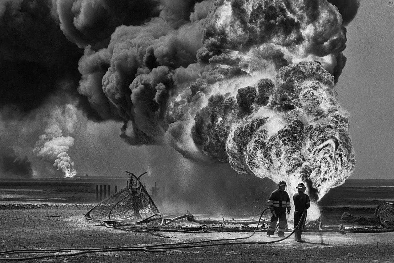 Кувейт, 1991 год. Автор Себастьян Сальгадо