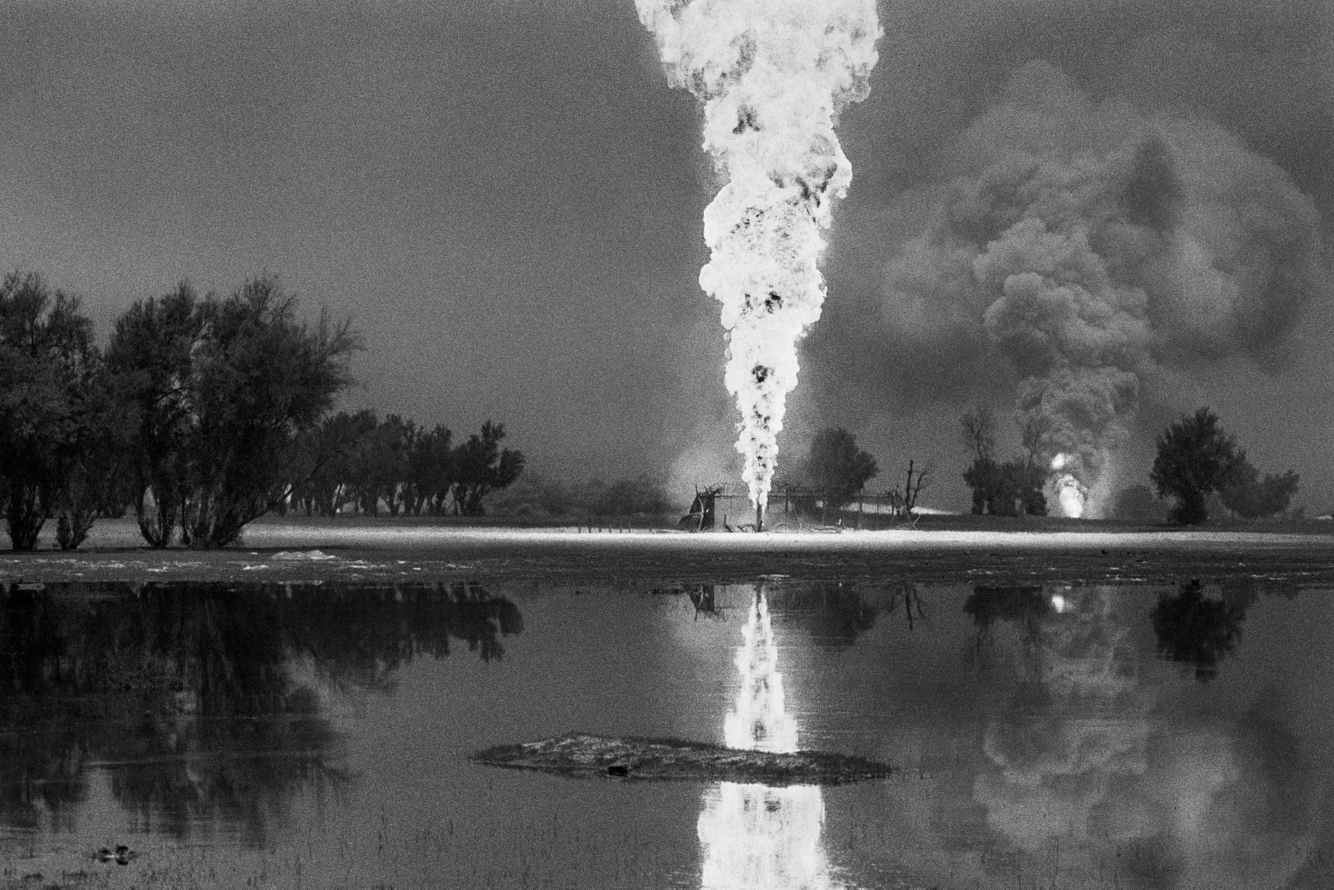 Кувейтские нефтяные пожары, 1991. Автор Себастьян Сальгадо