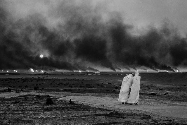 Нефтяные пожары, Кувейт, 1991. Автор Себастьян Сальгадо