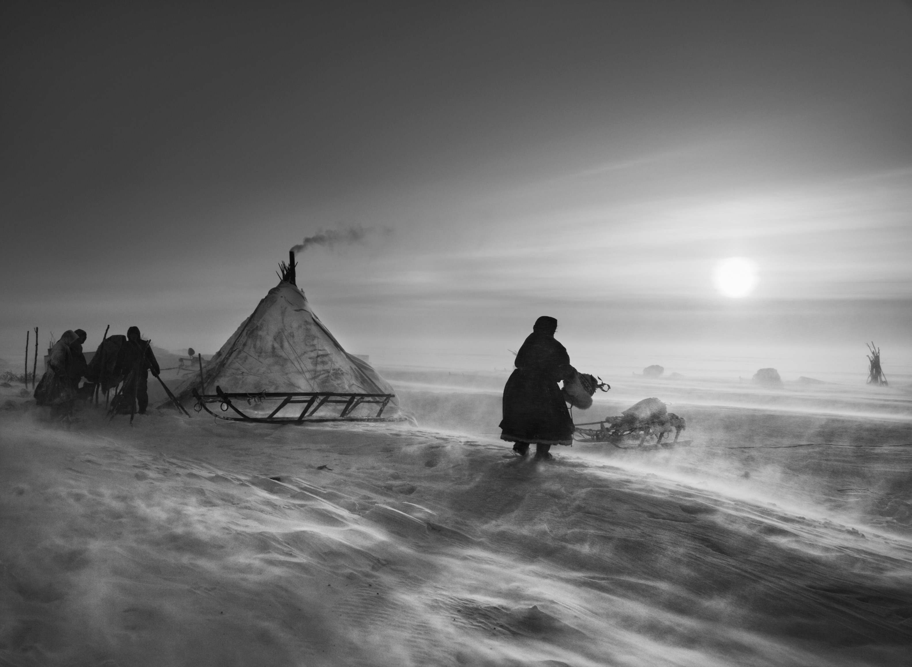 Ямал, Сибирь, Россия, 2011. Автор Себастьян Сальгадо