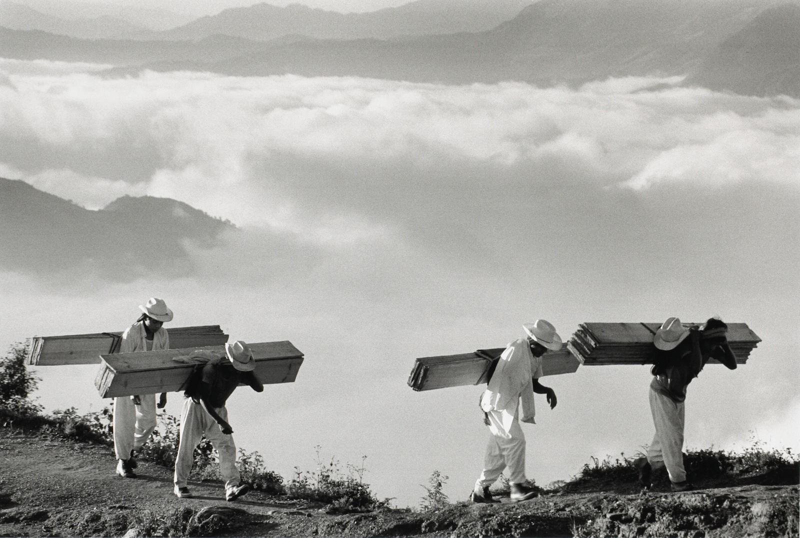 Восточная Сьерра-Мадре, Мексика, 1980. Автор Себастьян Сальгадо