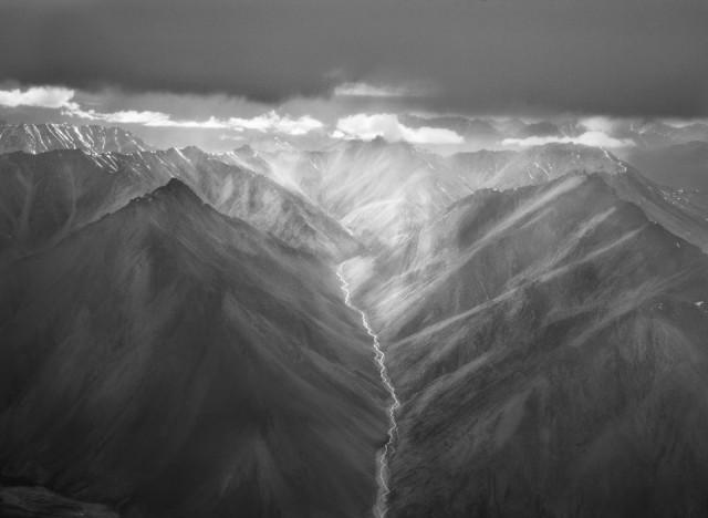 Заполярный горный хребет Брукс, Аляска, 2009. Автор Себастьян Сальгадо