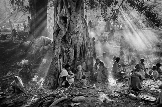 Тыграй, Эфиопия, 1985. Автор Себастьян Сальгадо