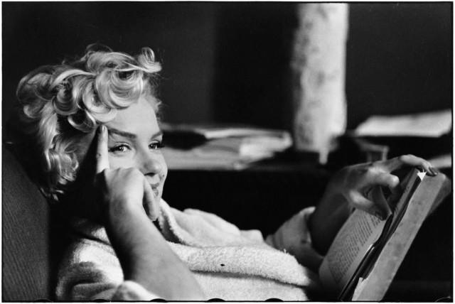 Мэрилин Монро, Нью-Йорк, 1956. Автор Эллиотт Эрвитт
