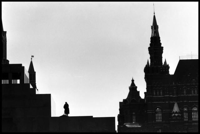 Красная площадь, Москва, 1957. Автор Эллиотт Эрвитт