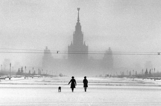 Москва, СССР, 1968. Автор Эллиотт Эрвитт