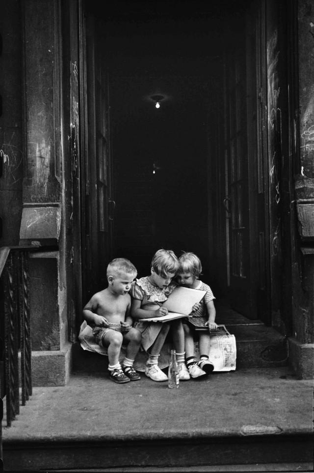 Нью-Йорк, 1950. Автор Эллиотт Эрвитт