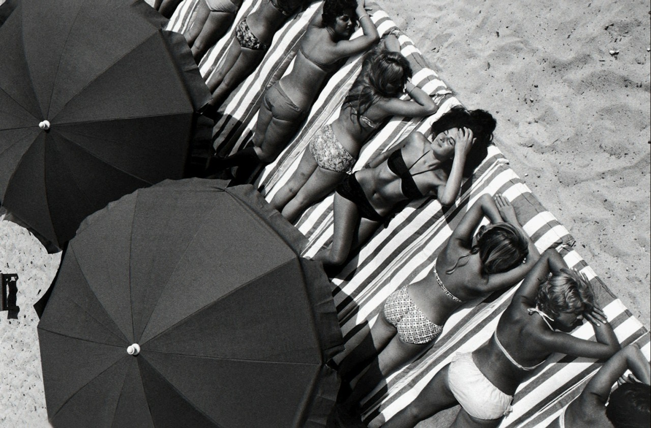 Сен-Тропе, Франция, 1959 год. Автор Эллиотт Эрвитт