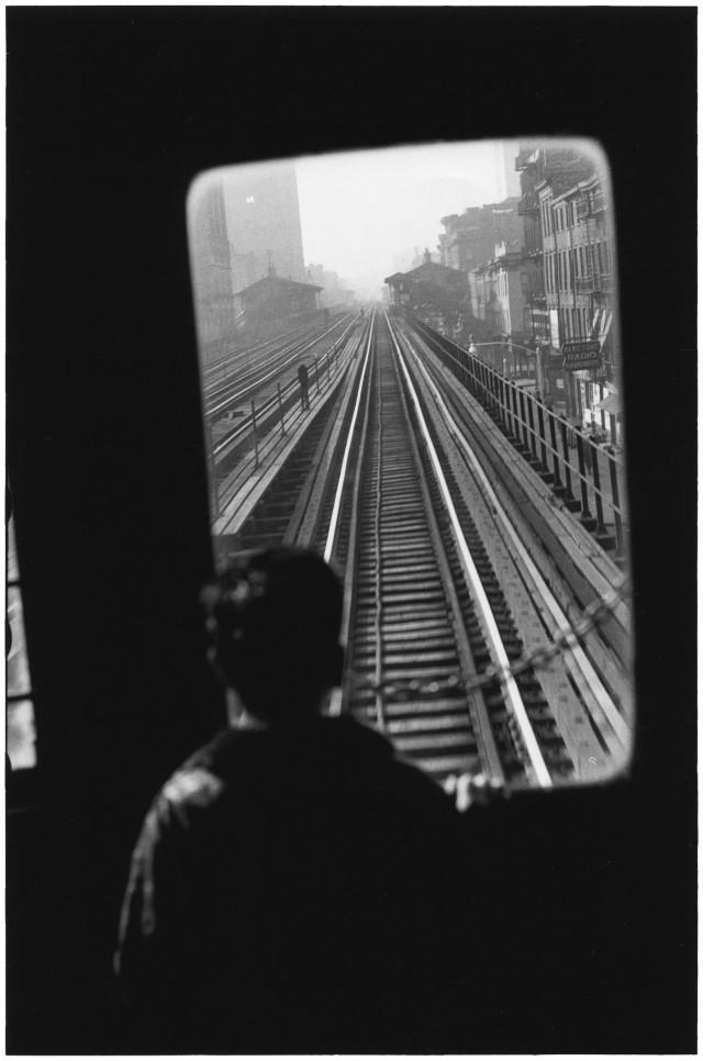 Третья авеню, Нью-Йорк, 1954. Автор Эллиотт Эрвитт