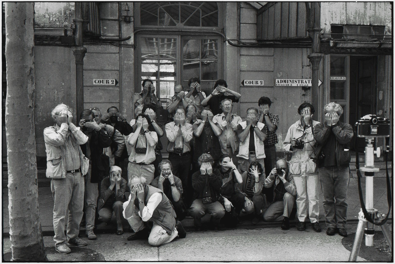 Фотографы Magnum на ежегодном собрании, 1988. Автор Эллиотт Эрвитт