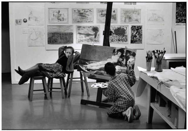 Бриджхэмптон, Нью-Йорк, 1990. Автор Эллиотт Эрвитт