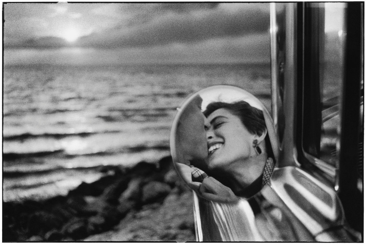Санта-Моника, Калифорния, 1955. Автор Эллиотт Эрвитт